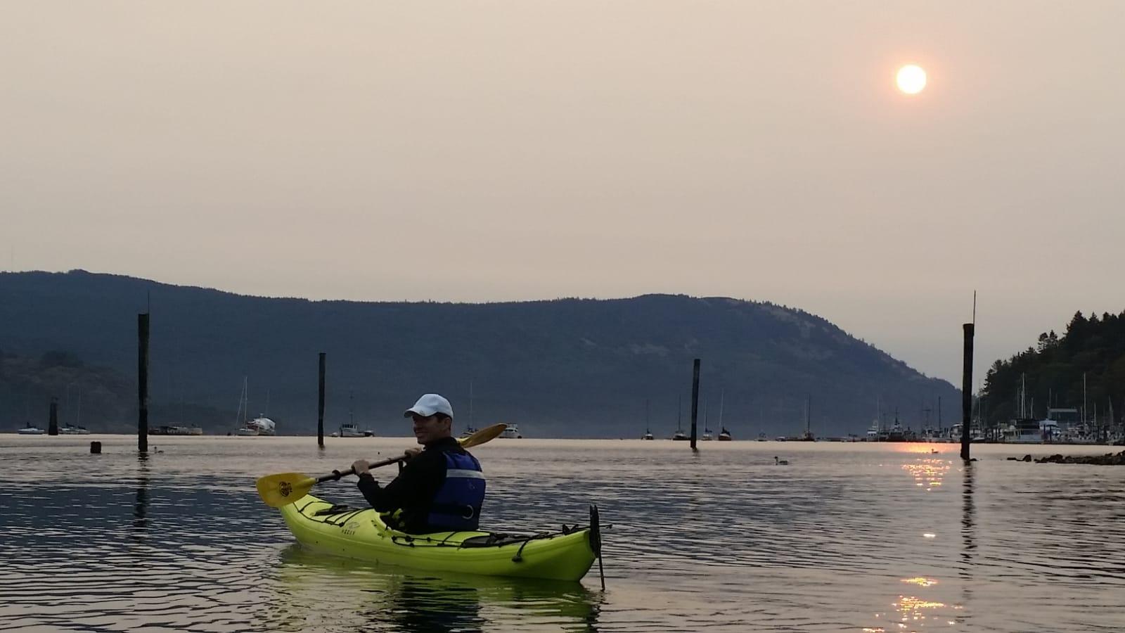 Kayaking Cow Bay